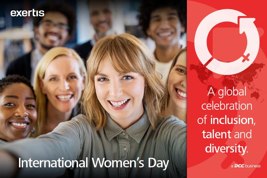 Exertis to celebrate International Women's Day