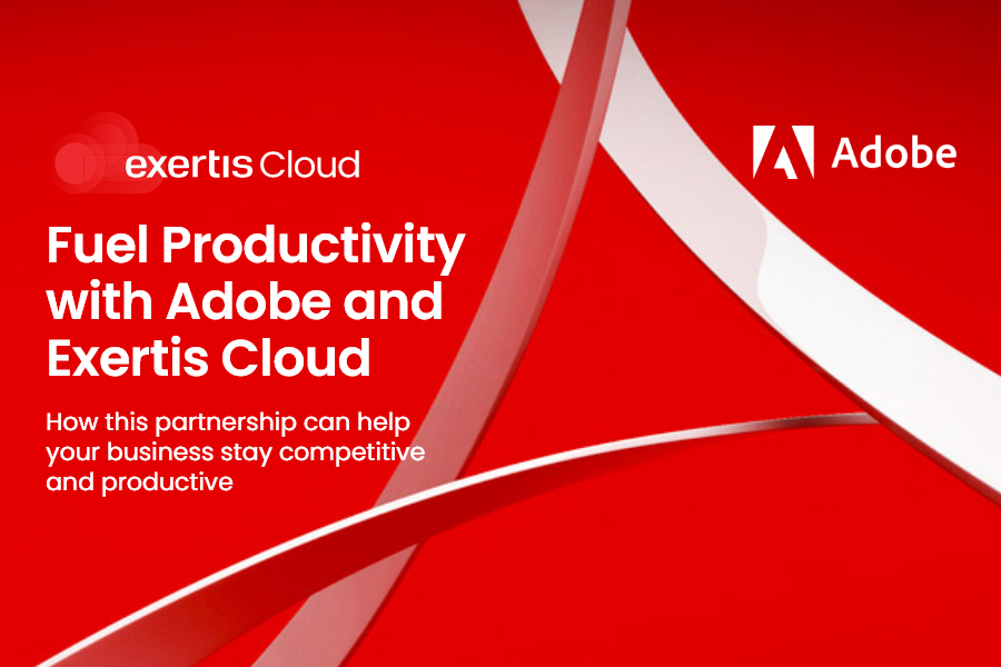 Fuel productivity with Adobe and Exertis Cloud