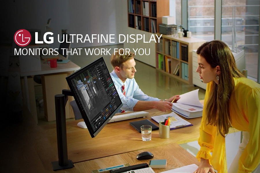 Discover how LG Monitors can work for you