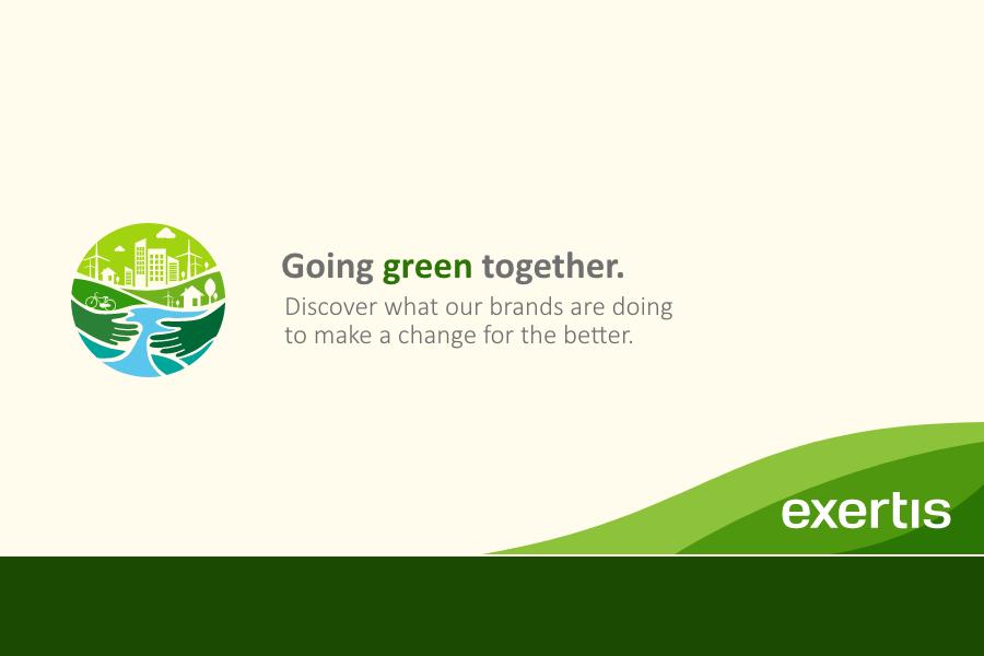 Building a greener world together